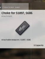 Choke for S1897, S686