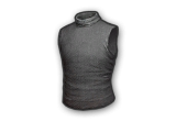 Sleeveless Turtleneck Top (Gray)