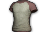 Raglan T-shirt (Red/White) в PUBG